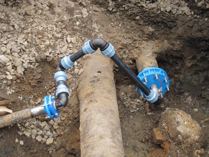 Chránička vodovodního potrubí